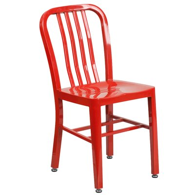 Brenneman Side Chair Finish: Red