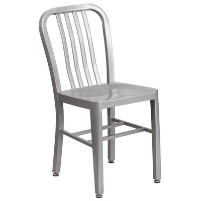 Brenneman Side Chair Finish: Silver