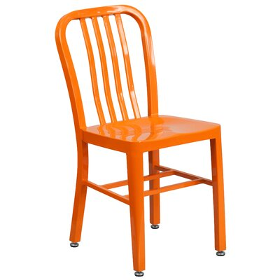Side Chair Finish: Orange