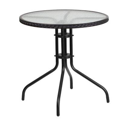 Bistro Table Finish: Black