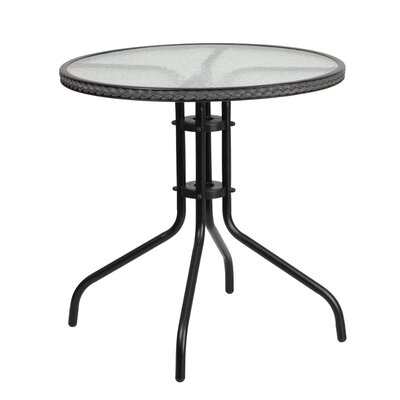 Bistro Table Finish: Gray
