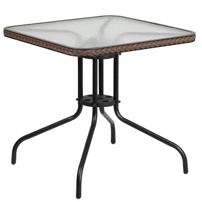 Bistro Table Finish: Dark Brown