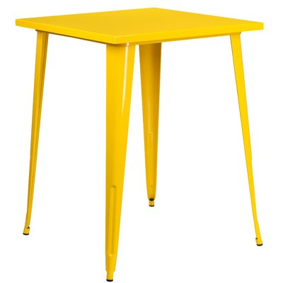 Bar Table Finish: Yellow