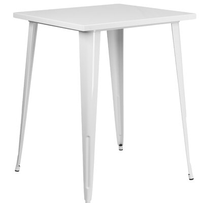 Bar Table Finish: White