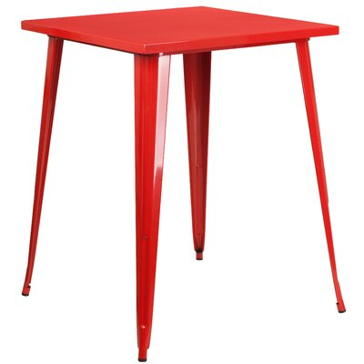 Bar Table Finish: Red