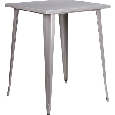 Bar Table Finish: Silver