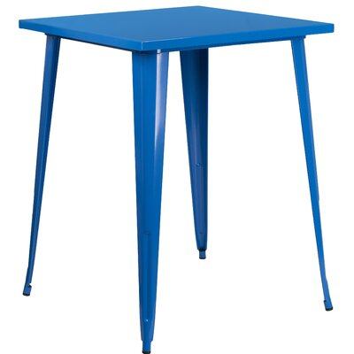 Bar Table Finish: Blue
