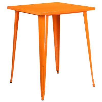 Bar Table Finish: Orange