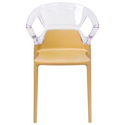 Armless Fascination Series Plastic Stacking Chair