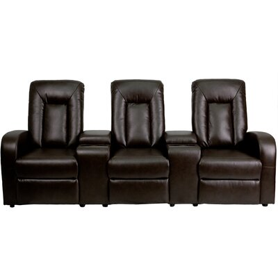 Eclipse Series Home Theatre Recliner (Row of 3) BT-70259-3-P-BRN-GG