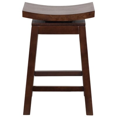 26'' Swivel Bar Stool Finish: Cappuccino