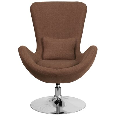 Palisades Lounge Chair Seat Color: Brown