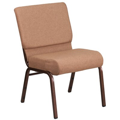 Hercules Series Guest Chair Seat Color: Brown, Finish: Copper