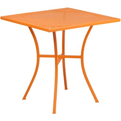 Bistro Table Finish: Orange