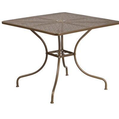 Dining Table Finish: Gold
