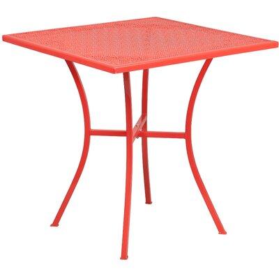 Bistro Table Finish: Coral