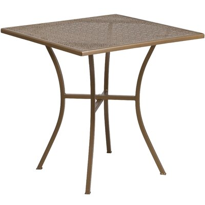 Bistro Table Finish: Gold