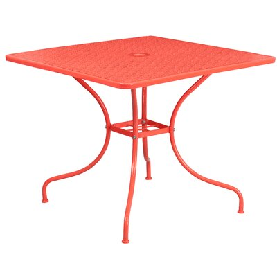 Dining Table Finish: Coral