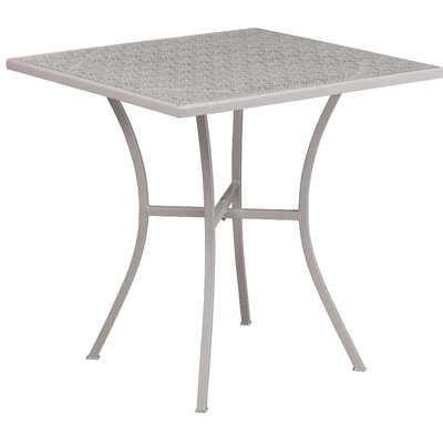 Bistro Table Finish: Light Gray