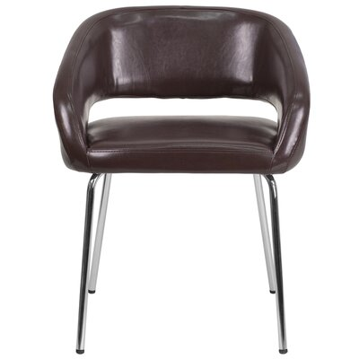 Noyola Contemporary Lounge Chair Seat Color: Brown