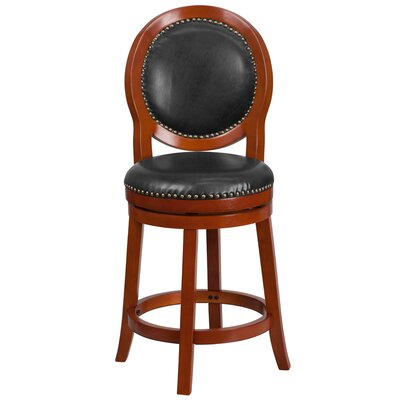 26'' Swivel Barstool with Cushion