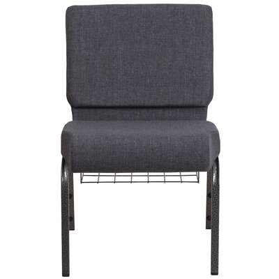 MacArthur Contemporary Dark Gray Guest Chair