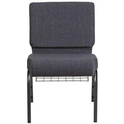 MacArthur Contemporary Dark Gray Guest Chair