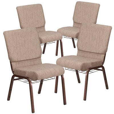 MacArthur Guest chair with Fabric Seat Seat Finish: Beige
