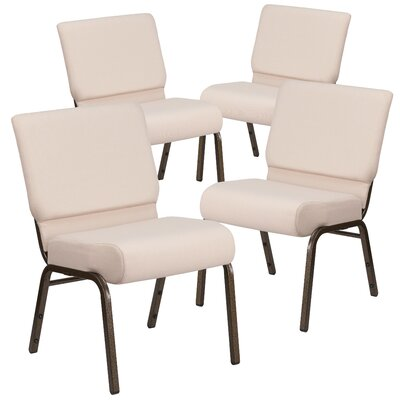 MacArthur Upholstered Guest chair with Fabric Seat Seat Finish: Beige