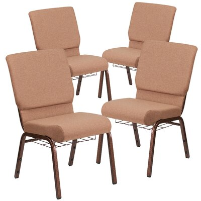 Hercules Series Guest chair Seat Finish: Brown