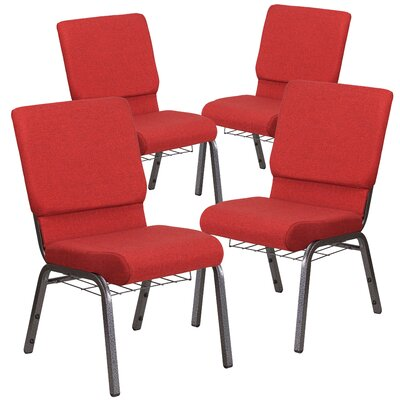 Hercules Series Guest chair Seat Finish: Red