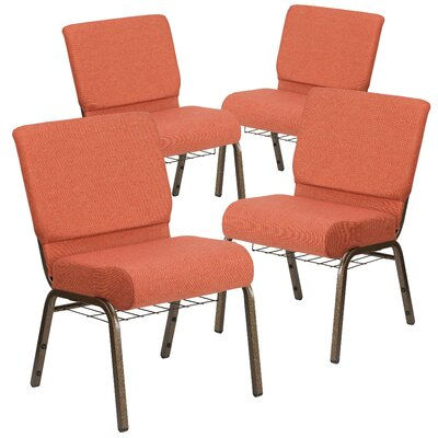 MacArthur Modern Guest chair with Fabric Seat Seat Finish: Cinnamon