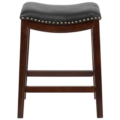 Alice 26 Bar Stool Color: Cappuccino