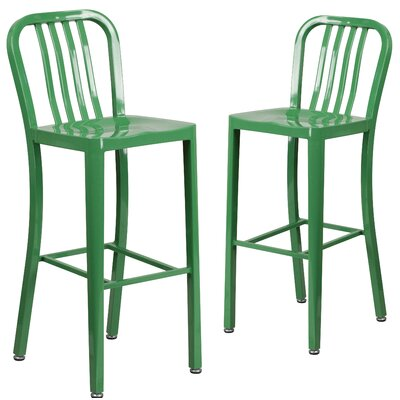 30 Bar Stool Finish: Green