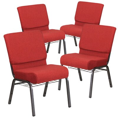 Hercules Series Guest chair Seat Finish: Crimson
