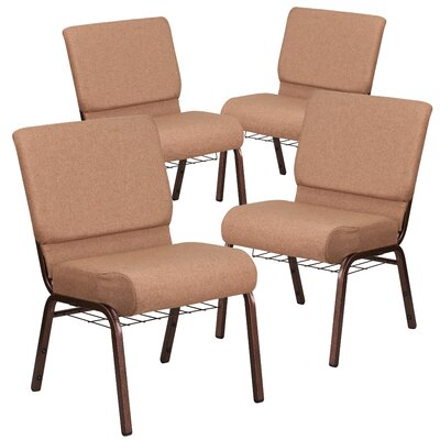 MacArthur Cooper Vein Guest chair Seat Finish: Brown