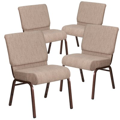 MacArthur Modern Upholstered Guest chair Seat Finish: Beige