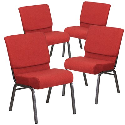 MacArthur Modern Guest chair Seat Finish: Crimson