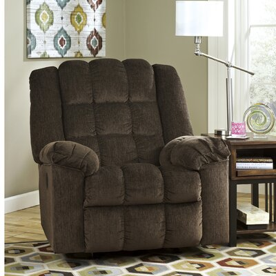 Trang Power Rocker Recliner Upholstery: Cocoa