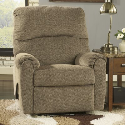 Danhui Manual Wall Hugger Recliner Upholstery: Cork