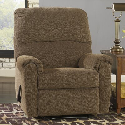 Danhui Manual Wall Hugger Recliner Upholstery: Walnut