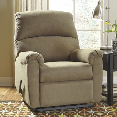 Otwell Wall Hugger Recliner Upholstery: Cocoa