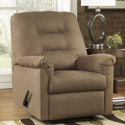 Harold Point Wall Huger Recliner Upholstery: Mocha