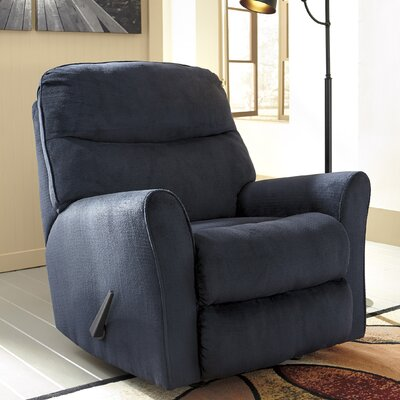 Savas Manual Rocker Recliner Upholstery: Midnight