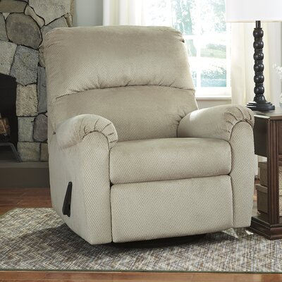Krystn Manual Swivel Recliner Upholstery: Sand
