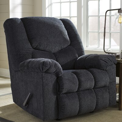 Adama Manual Rocker Recliner Upholstery: Slate