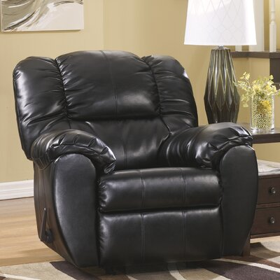 Lemuel Manual Rocker Recliner Upholstery: Onyx