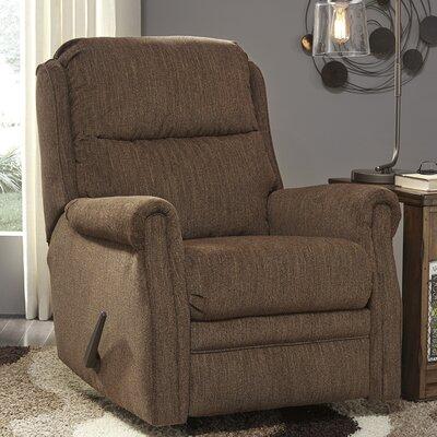Earles Rocker Recliner Upholstery: Chestnut
