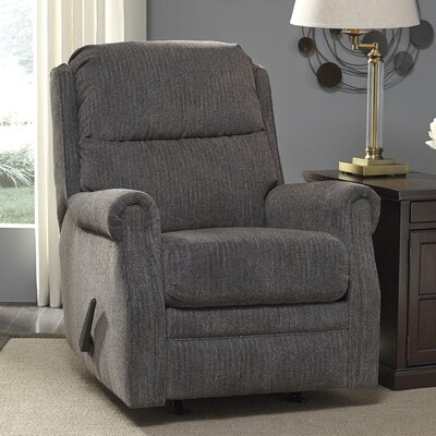 Earles Rocker Recliner Upholstery: Flannel