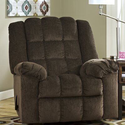 Lenora Manual Rocker Recliner Upholstery: Cocoa